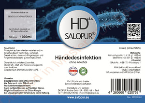 Salopur HD plus 1000ml - Handdesinfektion