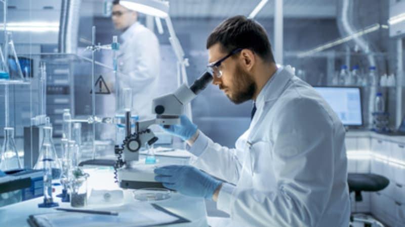 Desinfektion mit Ökopur - Labor