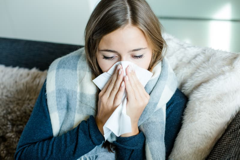 Ökopur HD plus Händedesinfektion nach dem Nase putzen
